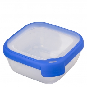 Hermetico Cuadrado  de Plástico  0,6 L.