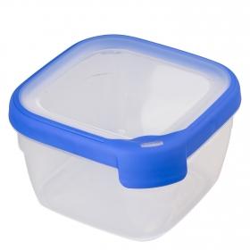 Hermetico Cuadrado  de Plástico  Grand  Chef 1,2 L.