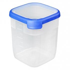 Hermetico Cuadrado  de Plástico  Grand  Chef  2,6 L.