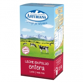 Leche en polvo entera Central Lechera Asturiana 800 g.