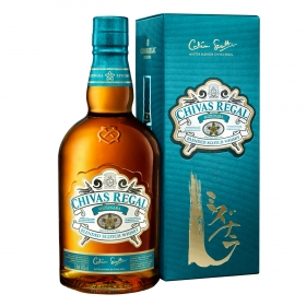 Whisky Chivas Regal Mizunara escocés 70 cl.