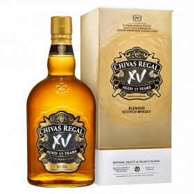 Whisky Chivas Regal escocés 15 años 70 cl.
