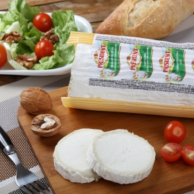 Rulo de queso de cabra Corte Redondo