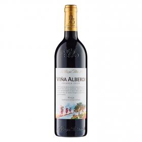 Vino D.O. Rioja tinto crianza Viña Alberdi 75 cl.