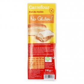 Pan de molde Carrefour sin gluten 10 g.