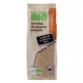 Semillas de sésamo tostado ecológicas Carrefour Bio 450 g.