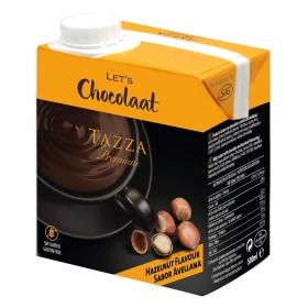 Chocolate a la taza para tomar Let`s Chocolaat sin gluten 500 ml.