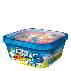 Caramelos de goma Sweet Mix Vidal sin gluten 200 g.