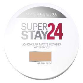 Maquillaje en polvo Superstay 24h. Nº 48 Sun Beige