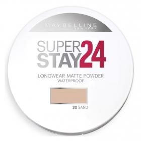 Polvos Super Stay 24h waterproof nº 030 Maybelline 1 ud.