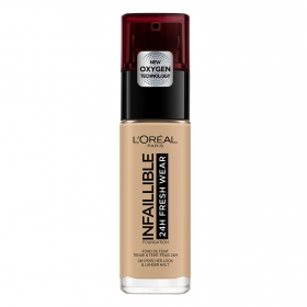 Base de maquillaje nº 140 Infalible 24H Fresh Wear L'Oreal 1 ud.