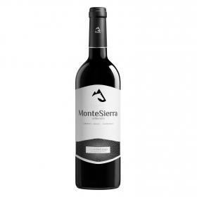 Vino D.O. Somontano tinto tempranillo-cabernet Montesierra 75 cl.