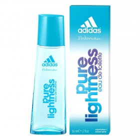 Agua de colonia woman Pure lightness Adidas 50 ml.