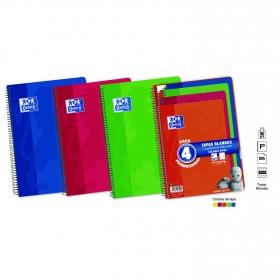Pack 4 Cuadernos 80 Hojas Oxford School