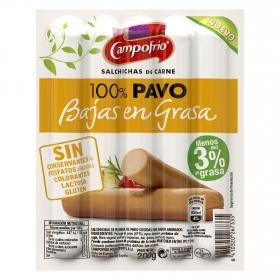 Salchichas 100% pavo Campofrío 200 g.
