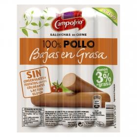 Salchichas 100% pollo Campofrío 200 g.
