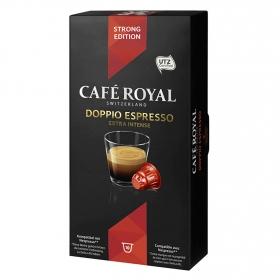 Café doppio expreso en cápsulas compatible con Nespresso