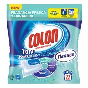 Detergente en cápsulas Nenuco Colon 22 ud.