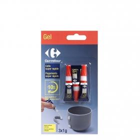 Pegamento Súper glue-3 Minitrio 3x1 gr