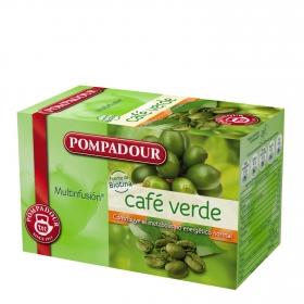 Infusión de café verde en bolsitas Pompadour 20 ud.