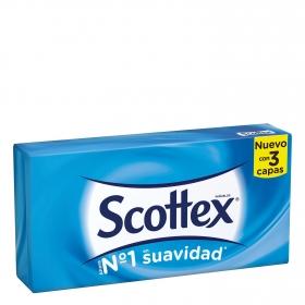 Caja de pañuelos 3 capas Scottex 70 ud.