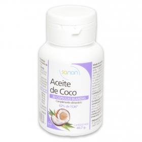 Cápsulas de aceite de coco Sanon 30 ud.