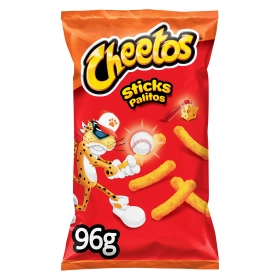 Sticks sabor queso con ketchup Cheetos 96 g.