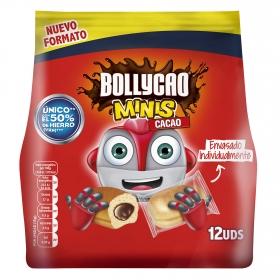 Bollito relleno de cacao mini Bollycao 12 ud.