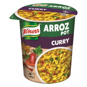 Arroz  Pot al curry