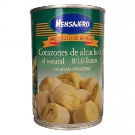 Corazones de alcachofa 8/10 Mensajero 240 g.