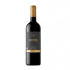 Vino D.O. Rioja tinto reserva Edición Limitada Ederra 75 cl.