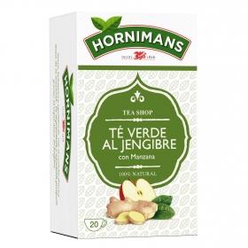 Té verde al jengibre con manzana