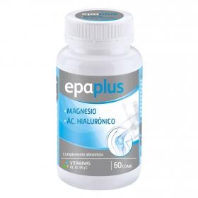 Complemento alimenticio magnesio y ácido hialurónico comprimidos Epaplus 60 comprimidos.