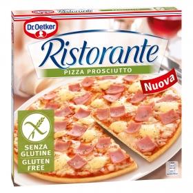 Pizza prosciutto Dr. Oetker - Ristorante sin gluten 345 g.
