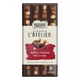 Chocolate negro con avellanas tostadas Nestlé 195 g.