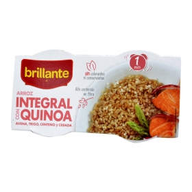 Arroz integral con soja