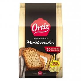 Pan tostado multicereales