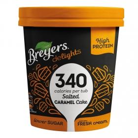 Helado de pastel de caramelo Breyers 500 ml.