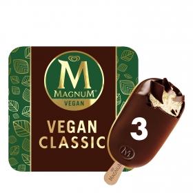Bombón helado Vegan Classic Magnum 3 ud.