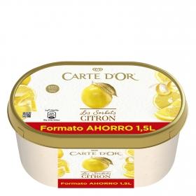 Helado sorbete de limón Carte D'or 1,5 l.