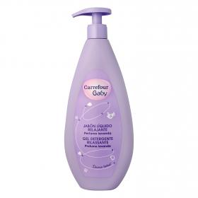 Jabón líquido relajante Carrefour Baby 750 ml.