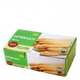 Espárragos blancos bipack Carrefour pack de 2 unidades de 150