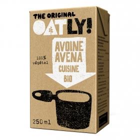 Crema de Avena Cuisine ecológico Oatly 250 ml.