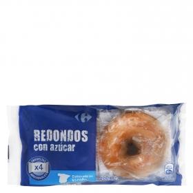 Redondos con azúcar Carrefour 4 ud.