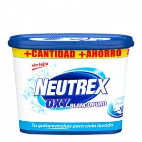 Quitamanchas en polvo Neutrex 18 lavados.