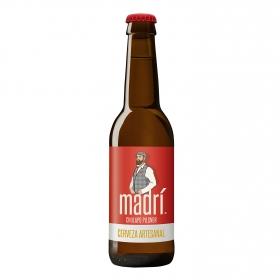 Cerveza artesanal Madrí botella 33 cl.