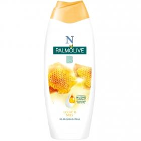 Gel de ducha con miel y leche hidratante NB Palmolive 600 ml.
