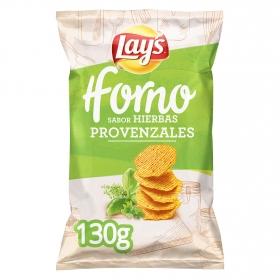 Patatas fritas hierbas provenzales Horno Lay's 130 g.