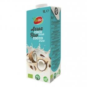 Bebida de arroz y coco ecológica Vivibio sin gluten brik 1 l.