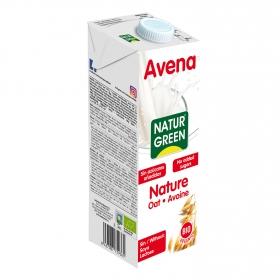 Bebida de avena sin azúcar ecológica Naturgreen brik 1 l.